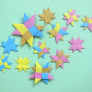 How to make Origami Stars with paper!