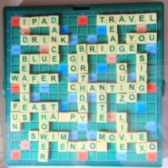 Personalised Scrabble Boards!