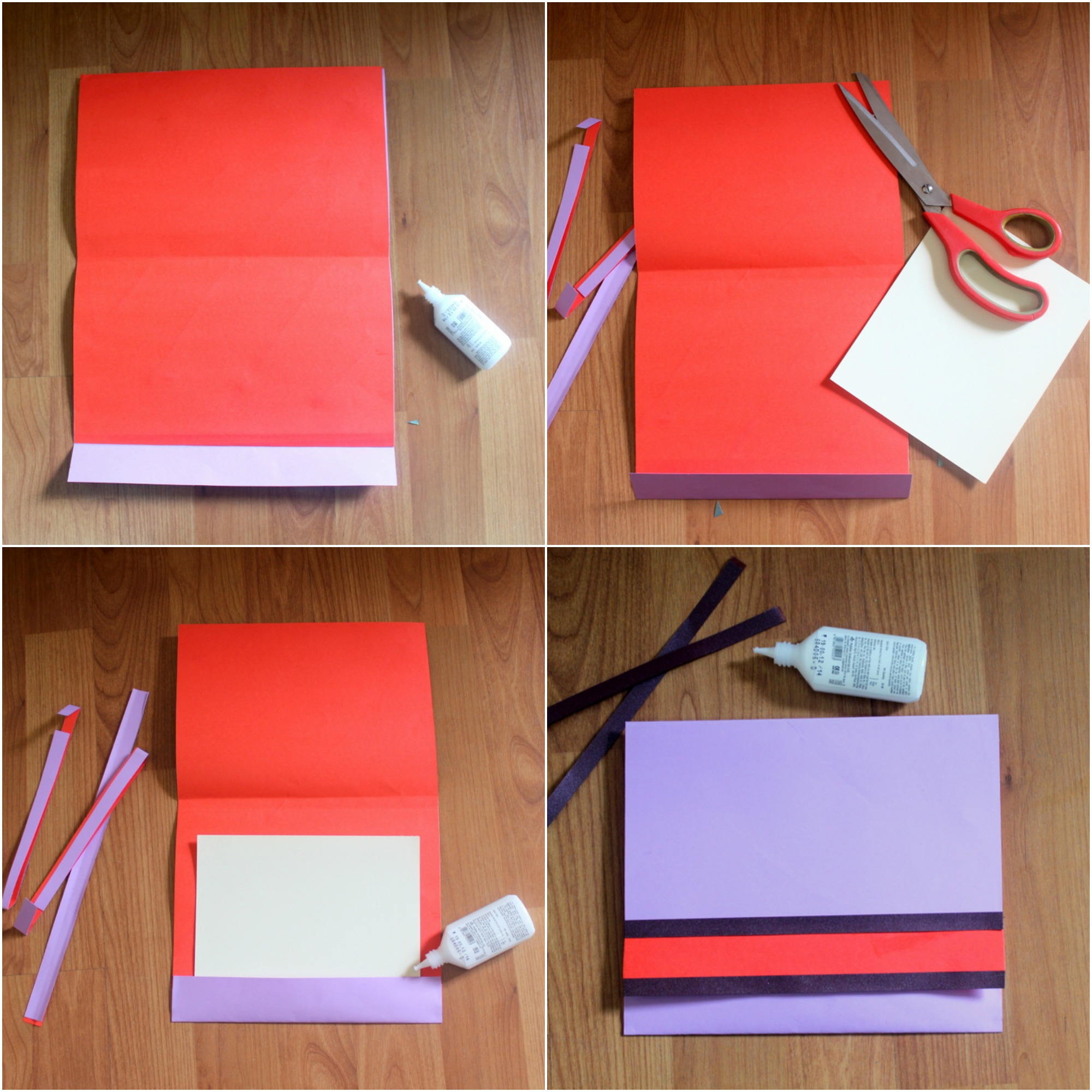 purple envelope step set 2 - The Craftables