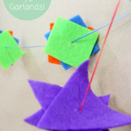 Paper Polygon Garlands!