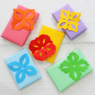 Decorate gifts with Kirigami cutouts!