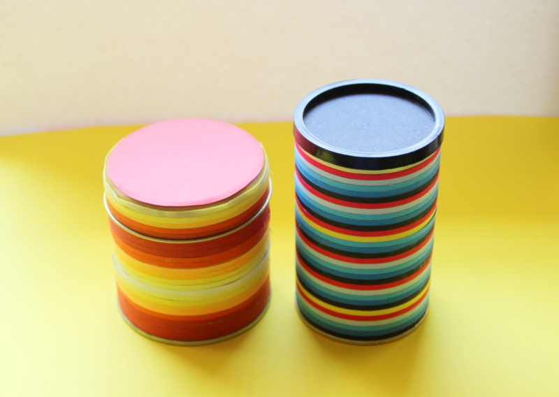 quilling ribbon used on jars