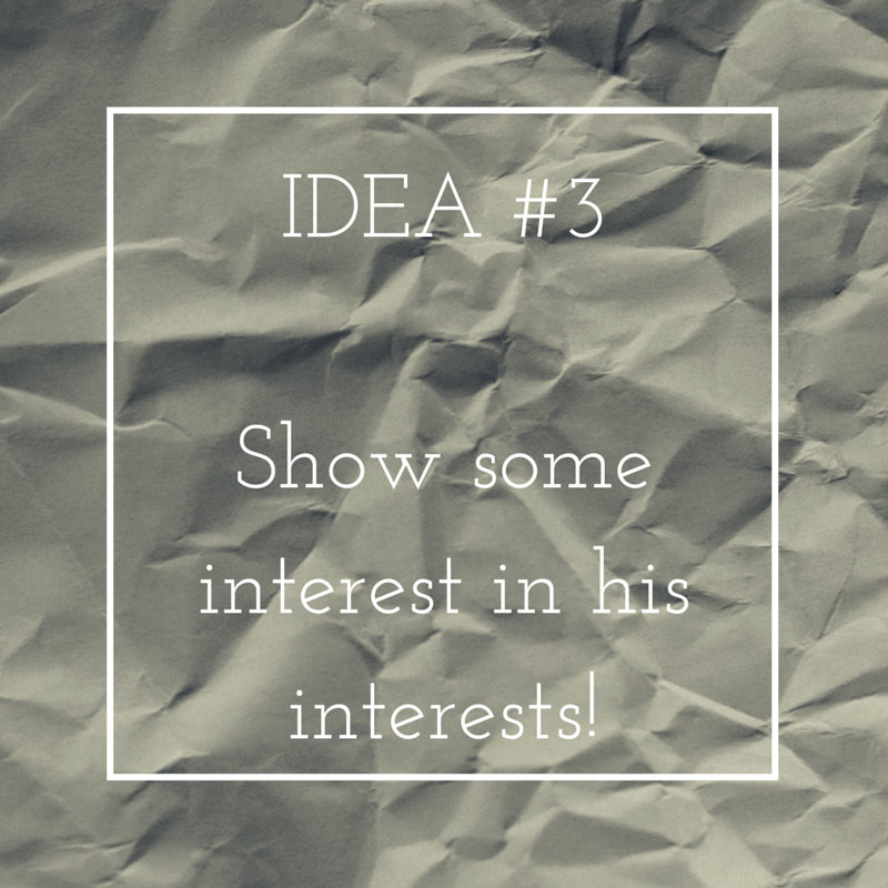 5 THINGS TO DO THISFATHER'S DAY - IDEA 3
