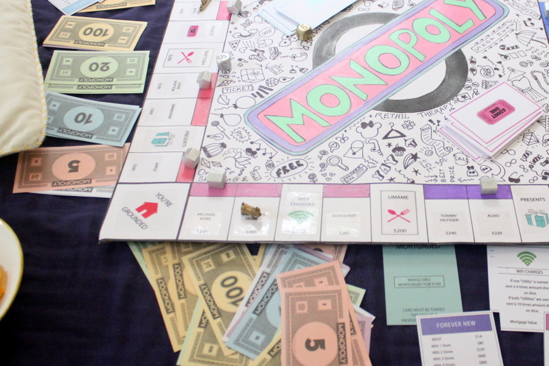 personalised monopoly board