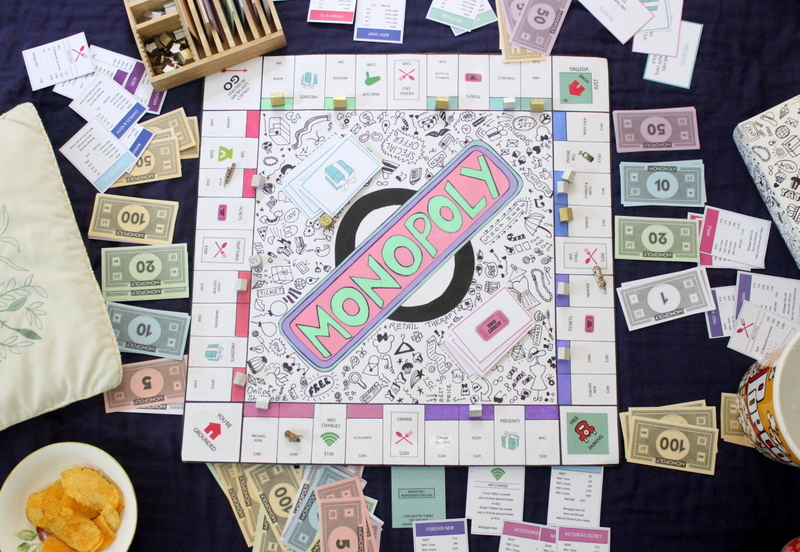 Game being played(monopoly) - The Craftables