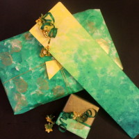 gift wrapping paper, crafts, DIY