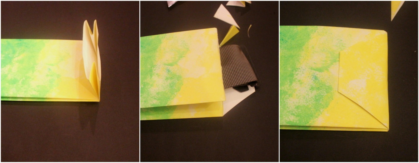 making the tie envelope