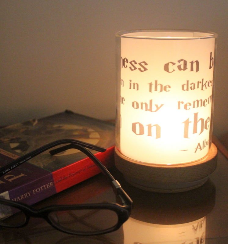 homemade quote candle
