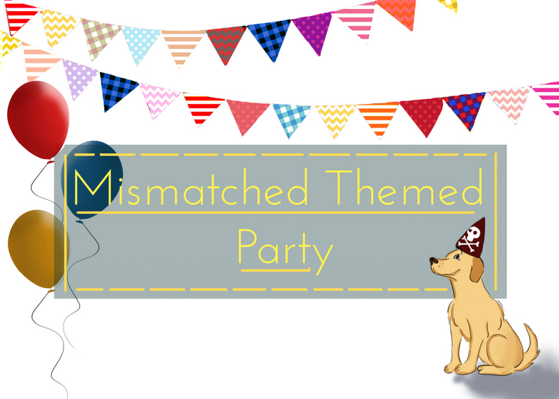 mismatched theme party