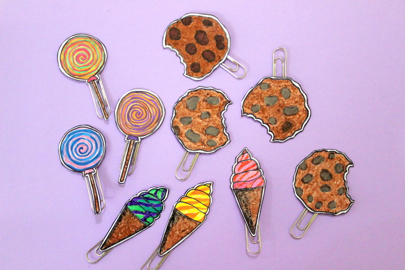 finished cookie markers