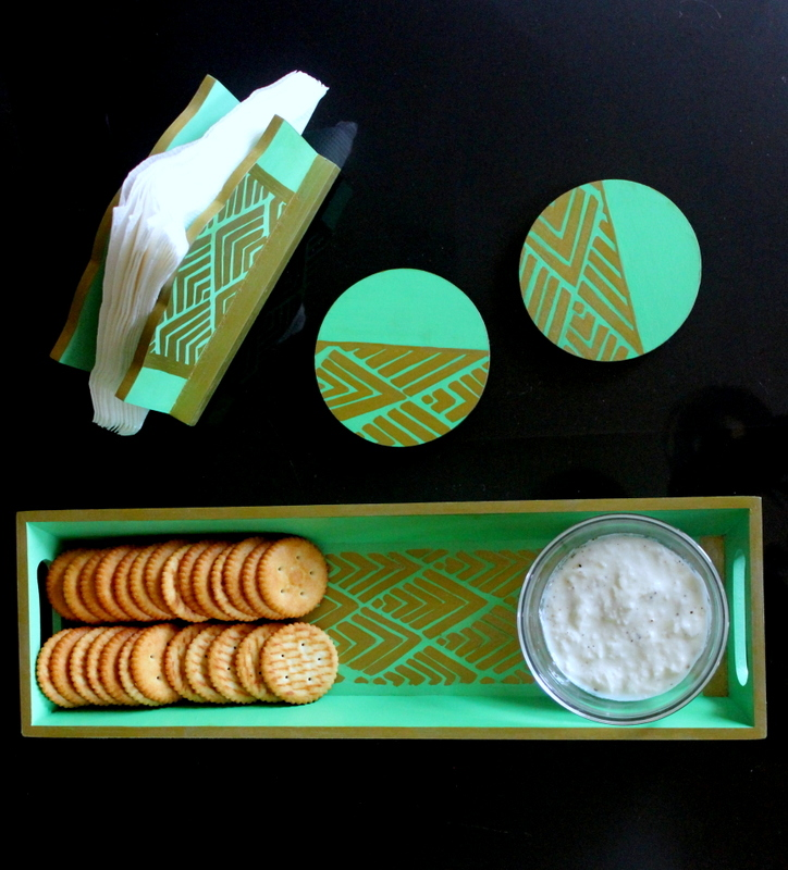 How to make a tray set