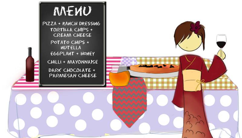 mismatched party food menu