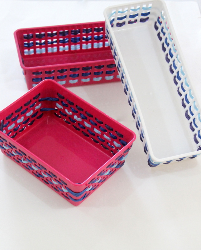 Raffia Basket Set - The Craftables