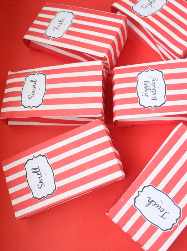 gift boxes for the 5 senses