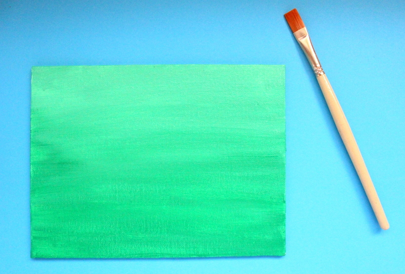 step1: Paint the canvas