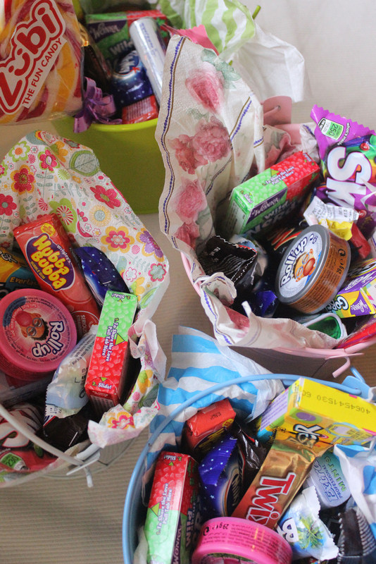 Candy Buckets and how to make them