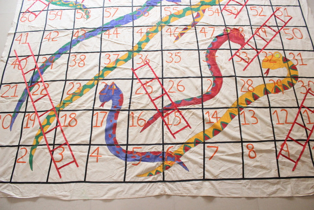 making big snakes and ladders