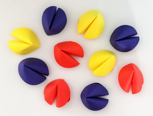 custom paper fortune cookies