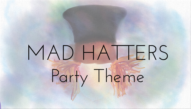 mad hatter party theme