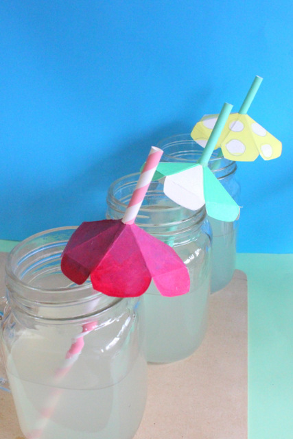 umbrellas, straws, skewers, How to plan an Umbrella Party! - party themes, party ideas, party, party planning, DIY, craft ideas , invitations, party favors, party games , handmade, diy crafts, party decor, the craftables, umbrellas, rainy days, beach, poolside, cute diy, papercrafts, DIY, cute diy, crafts for kids