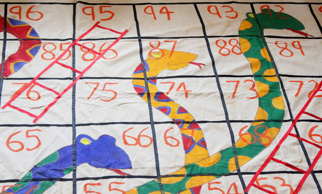 Giant outdoor snakes and ladders game the craftables giant board game solutioingenieria Images