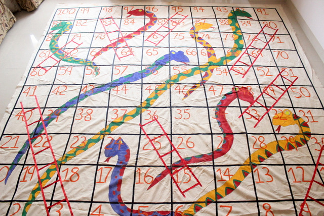 Giant outdoor snakes and ladders game the craftables outdoor snakes and ladders solutioingenieria Images