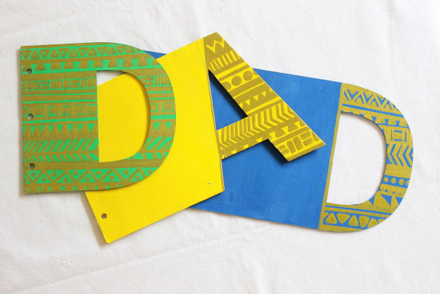 painting dad card