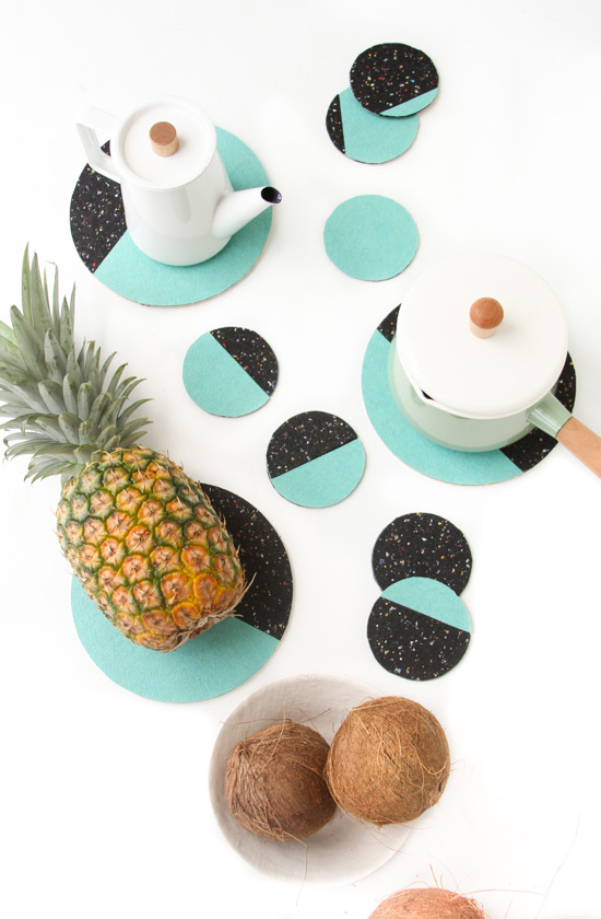 DIY, coasters, Handmade, hand painted, gift ideas, DIY ideas, DIY projects, tutorials, phases of the moon, crafts, art and crafts