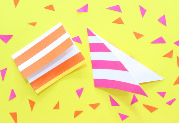 Learn 21 ways to make gift tags in 2 minutes with strips of paper. It's a perfect gift wrapping add on , which can be made by children and adults easily. Use different patterns, cut outs, colour combinations to make interesting, simple & attractive designs. So, you're never at a lose for a tag again.