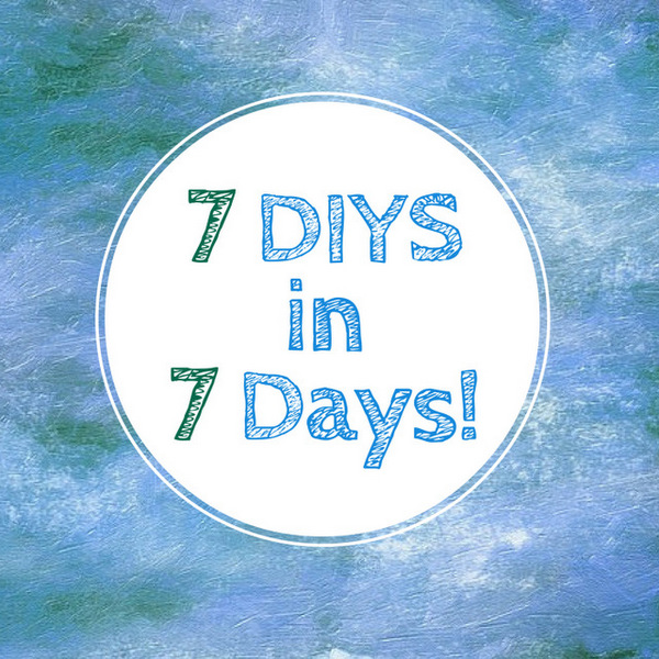 The 9th week for 7 DIYs in 7 Days. Click through for 7 inspiring DIY craft ideas by the best bloggers online. Arts & crafts, gifts for him, gifts for her, crafts for children, these lists have everything covered.