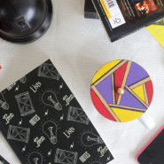 DIY Geometric Cup Covers
