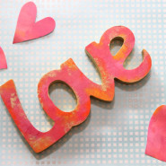 DIY Pink Sign of Love. Literally!