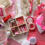 Pretty in Pink Stationery Set