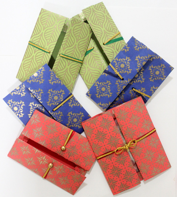 colourful rakhi envelopes