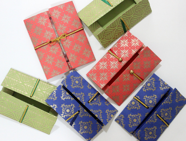 handmade rakhi envelopes