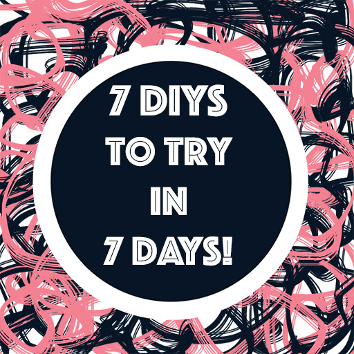 Click through for 7 great diy projects for each day of the week from some of the best bloggers online. Crafts which anyone can do in a day. This week is all about being thrifty! - The Craftables