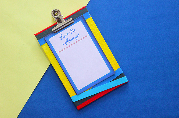 How to keep track of all the messages people leave on your desk? Make a Message board in 10 minutes!