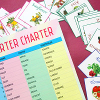 How to make a Barter Charter Game idea + Free Printables