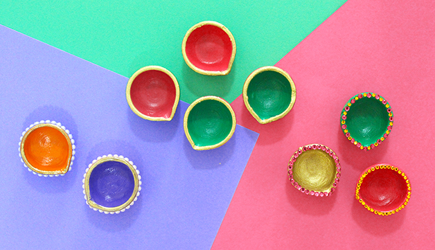 diy diwali diya decoration ideas in 10 mins the craftables