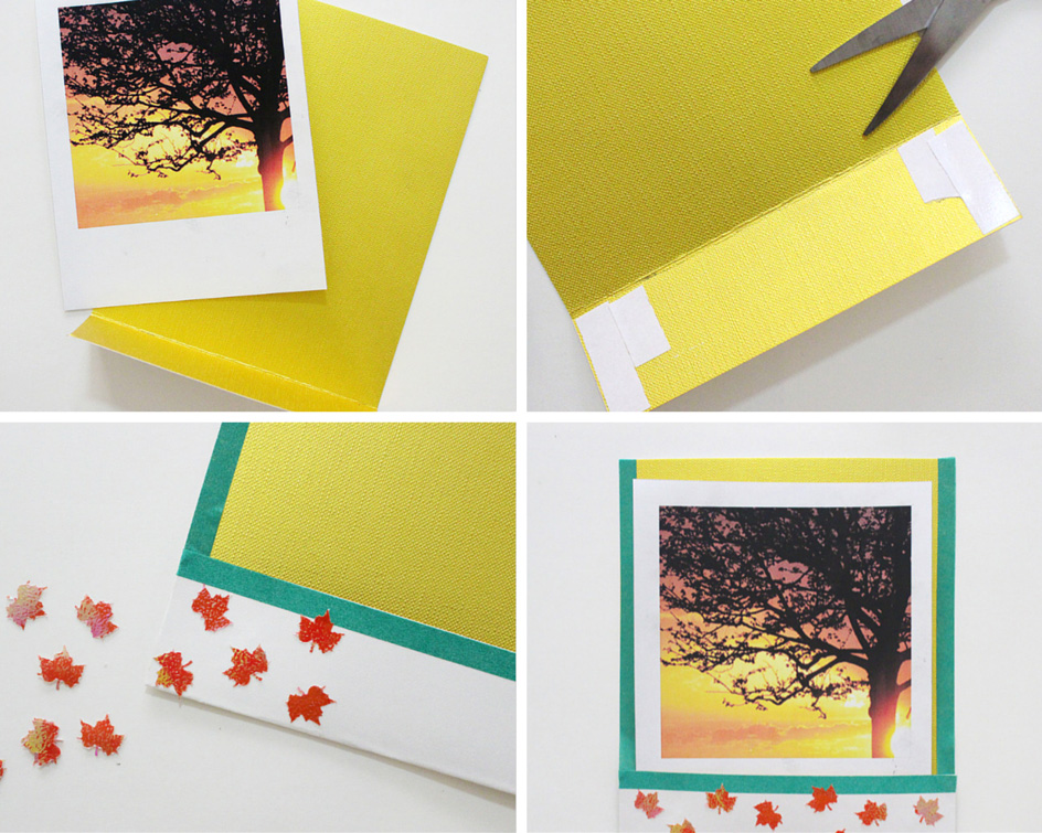3 ways to make Polaroid Frames for inexpensive (but fun!) party favours!