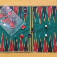 How to make a Travel Backgammon!