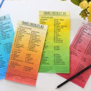 Packing for trips, just got easier w/ Travel Checklists!