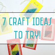 7 Craft Ideas To Try This week! November 2015