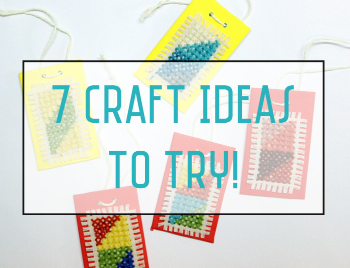 7 craft ideas to try this week. Roundup for first week of Nov. 2015