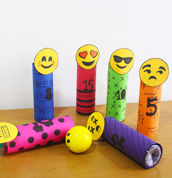 Bowling Crafts For Preschoolers