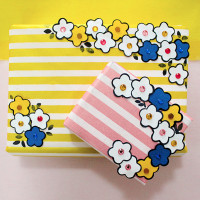 Punch Art Gift Wrap - Easy and quick way of gift wrapping without spending too much