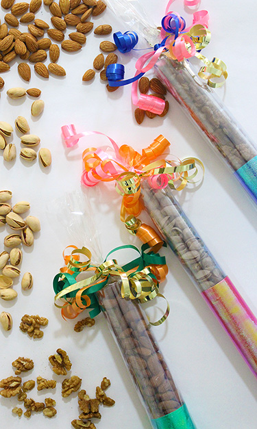DIY Diwali Dry Fruit Crackers for gifting!