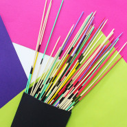 How to make Mikado Pick Up Sticks Set