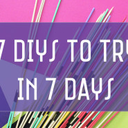 7 DIYs To Try In 7 Days! November 2015