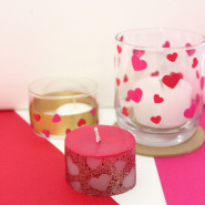 3 Ways To Make Valentines Day Candles In Minutes!